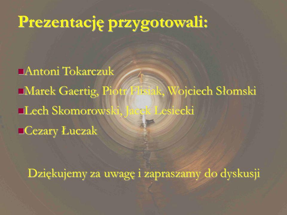 Dziękujemy za uwagę i zapraszamy do dyskusji Prezentację przygotowali: Antoni Tokarczuk Antoni Tokarczuk Marek Gaertig, Piotr Flisiak, Wojciech Słomsk