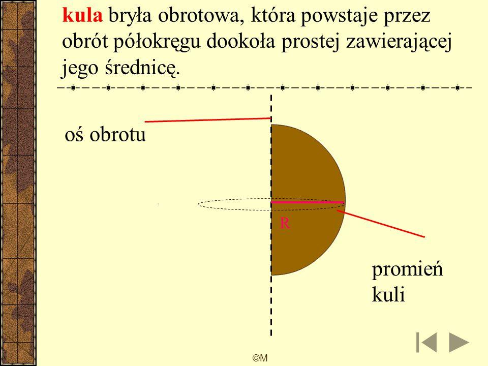 ©M Siatka stożka L obwód koła 2  r 2r2r