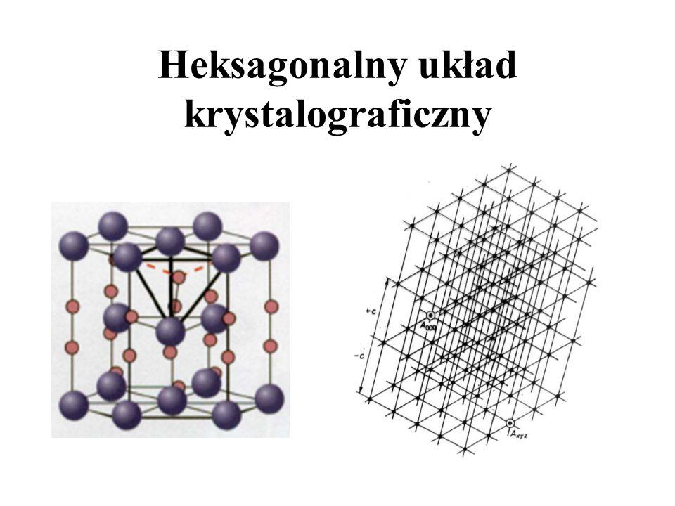 Heksagonalny układ krystalograficzny