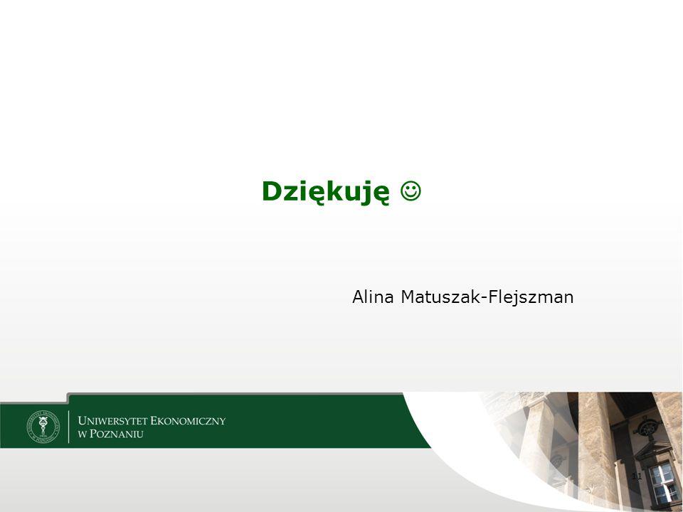 Alina Matuszak-Flejszman Dziękuję 11