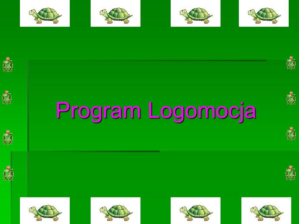 Co można robić w programie Logomocja.