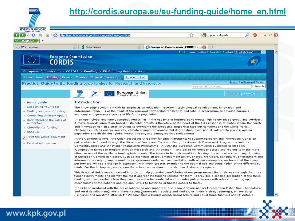 http://cordis.europa.eu/eu-funding-guide/home_en.html