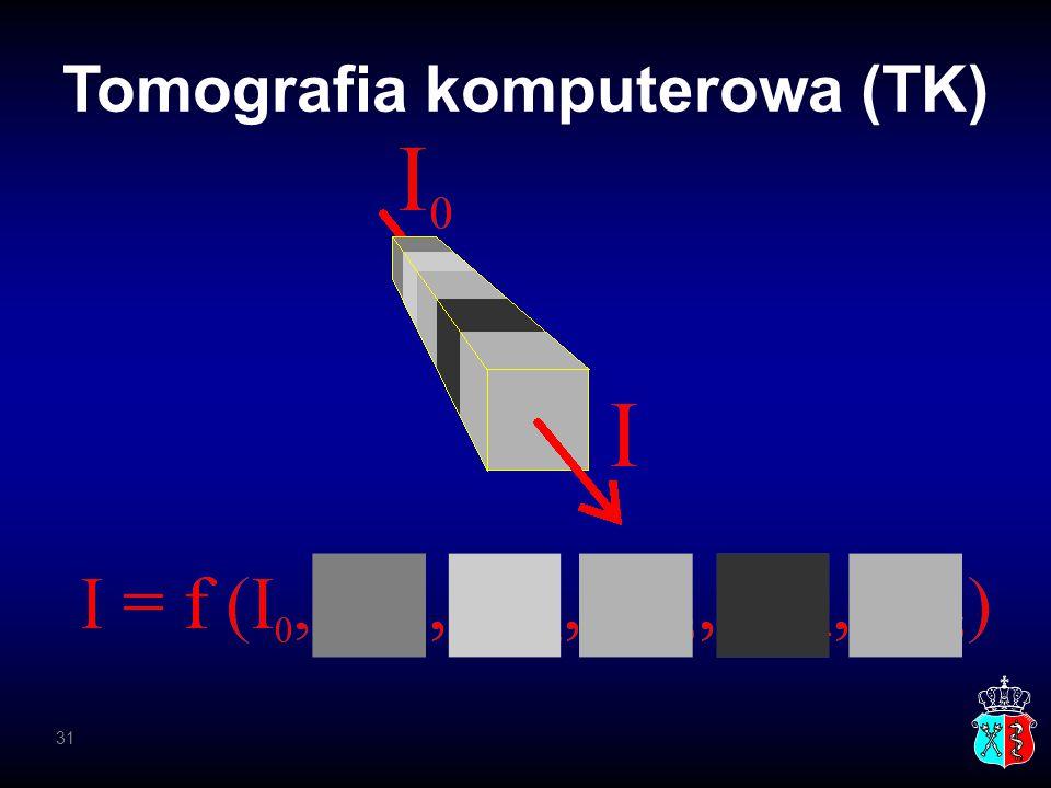Tomografia komputerowa (TK) 31