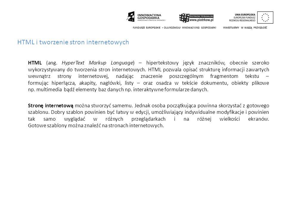 Redagowanie portali z wykorzystaniem serwisów CMS (np.