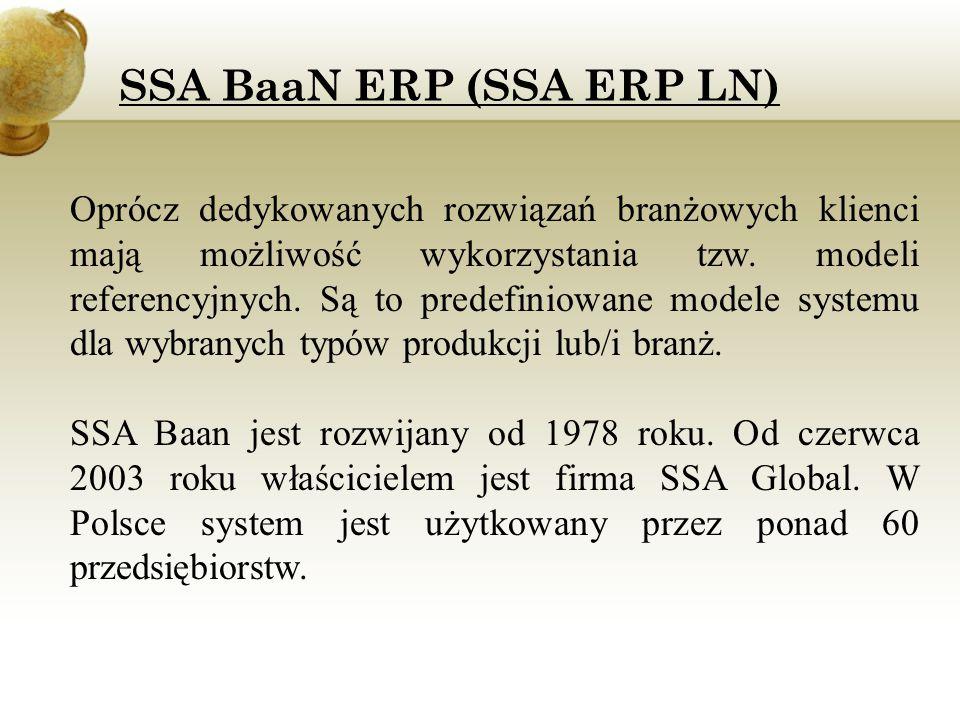 mySAP ERP (R/3) mySAP ERP (zwany popularnie systemem SAP, dawniej SAP R/3) jest zintegrowanym systemem informatycznym, wspomagającym zarządzanie firmą.