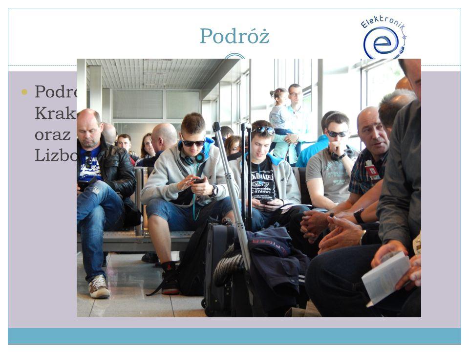 Podróż Podróżowaliśmy liniami Lufthansa trasą Kraków – Frankfurt – Lizbona oraz Lizbona – Frankfurt – Katowice