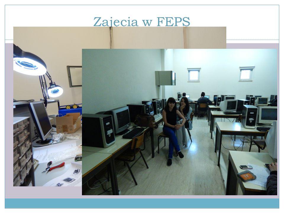 Zajęcia w FEPS Razem chodziliśmy na zajęcia zarówno ogólnokształcące, jak i zgodne z naszym profilem nauczania.