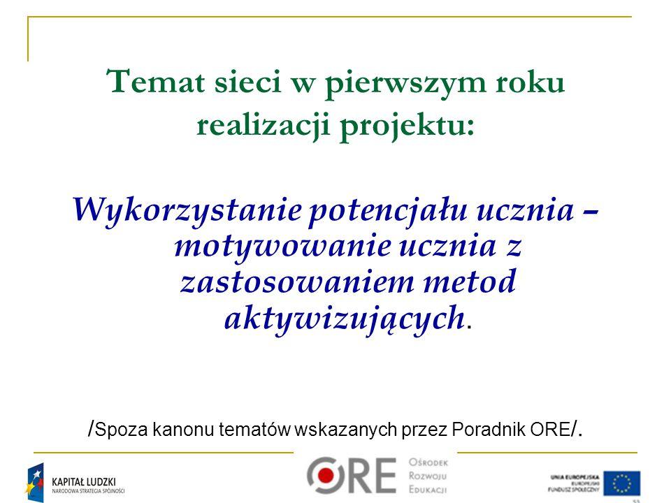 Dziękuję za uwagę Kontakt : saj@autograf.pl Projekt współfinansowany z Unii Europejskiej w ramach Europejskiego Funduszu Społecznego