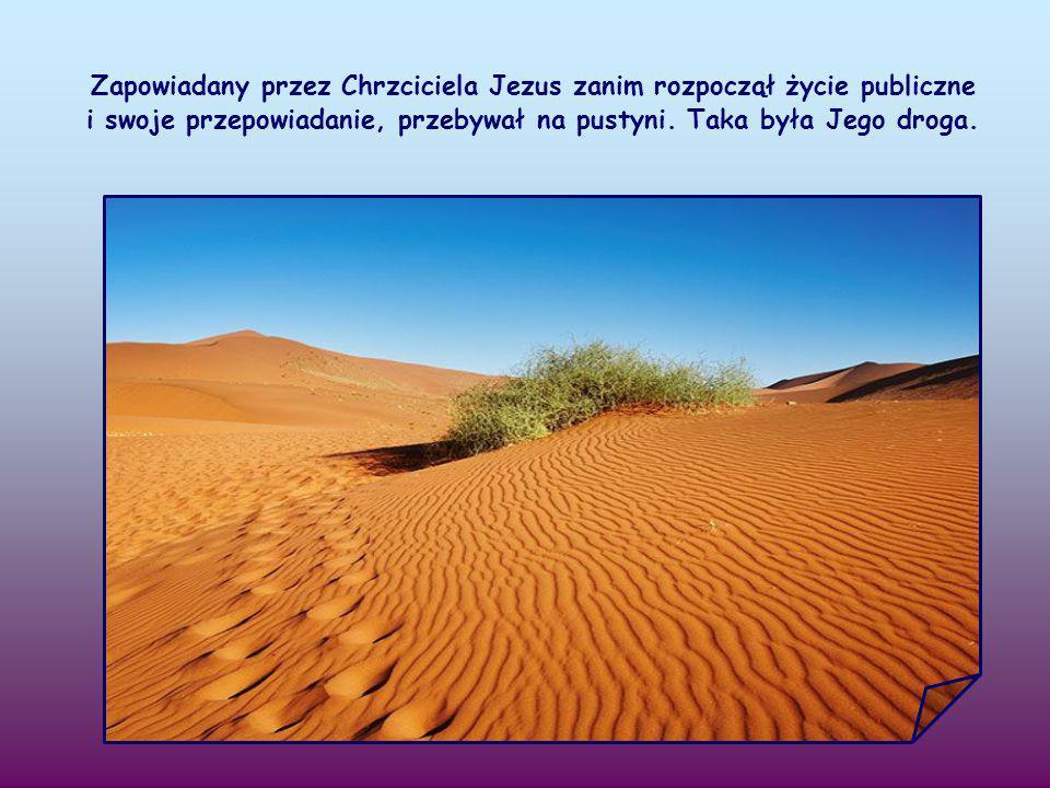 Jan Chrzciciel zachęca, by przygotować drogę Panu. Ale jaka to droga