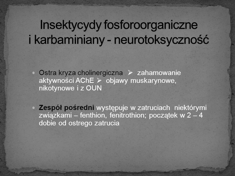 Następstwa uszkodzenie obwodowego układu nerwowego (polineuropatie) uszkodzenie ośrodkowego układu nerwowego (zanik korowy i podkorowy mózgu), uszkodz