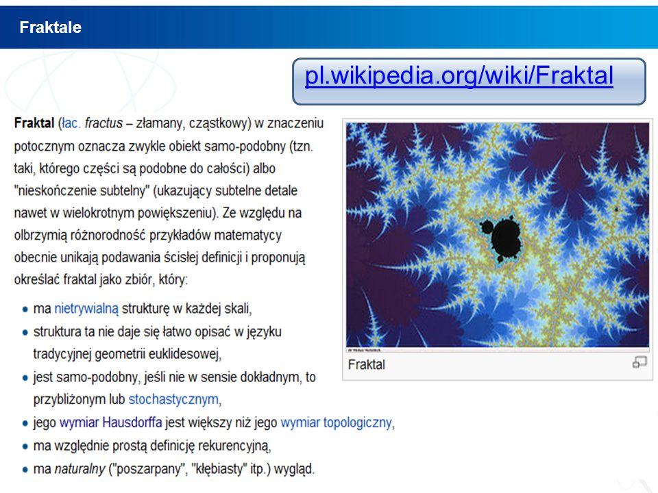 pl.wikipedia.org/wiki/Fraktal Fraktale