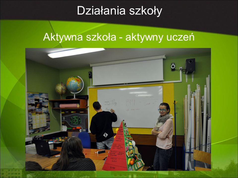 Aktywna szkoła - aktywny uczeń
