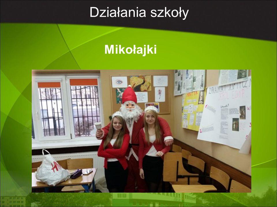 Działania szkoły Mikołajki