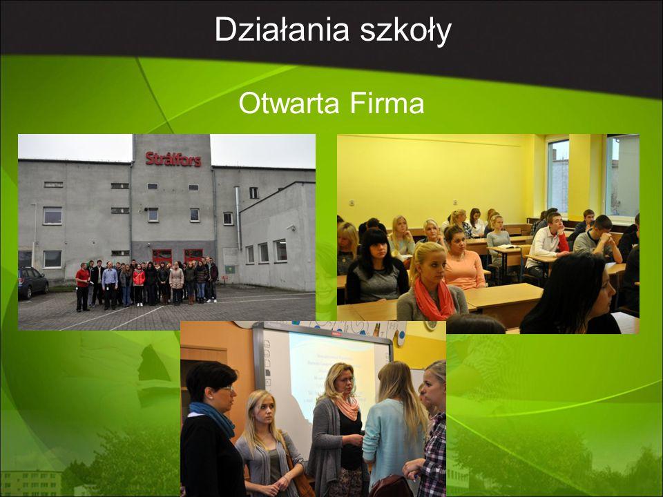 Działania szkoły Otwarta Firma
