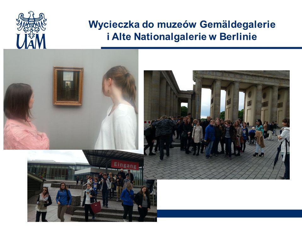 Wycieczka do muzeów Gemäldegalerie i Alte Nationalgalerie w Berlinie