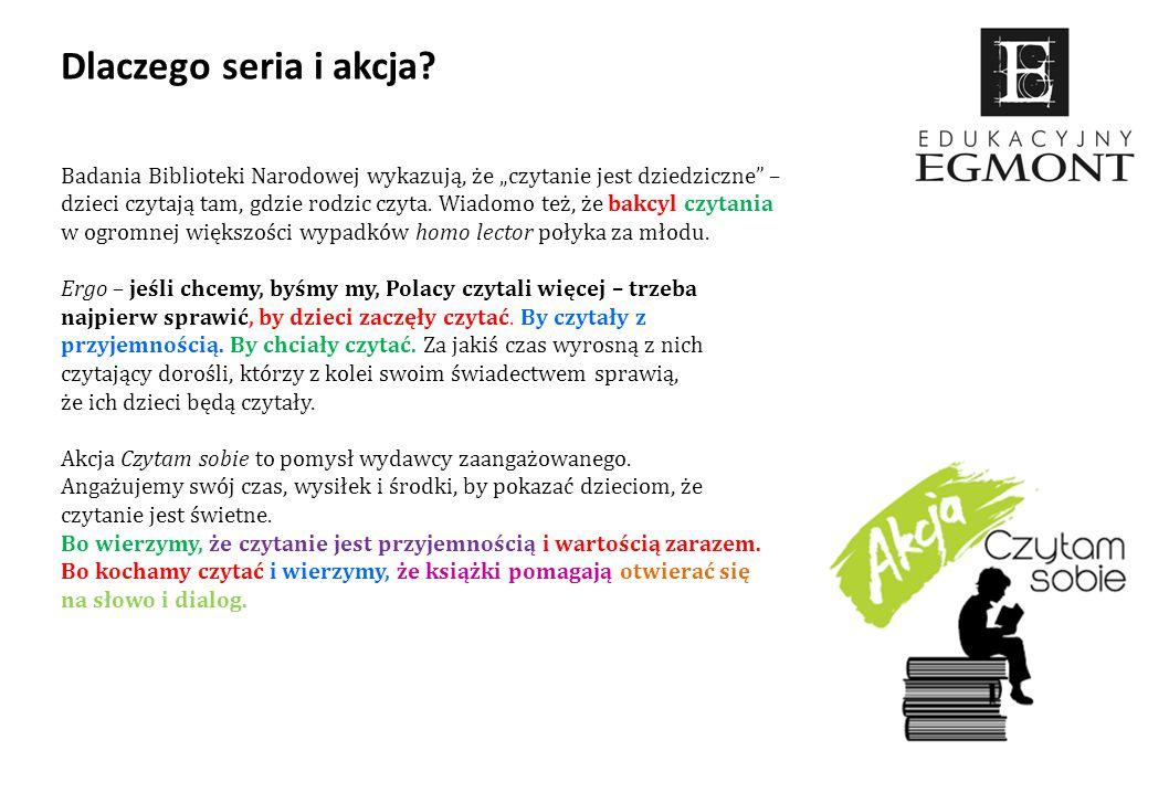 """Badania Biblioteki Narodowej wykazują, że """"czytanie jest dziedziczne"""" – dzieci czytają tam, gdzie rodzic czyta. Wiadomo też, że bakcyl czytania w ogro"""