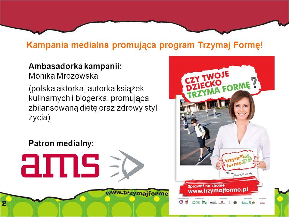 Kampania medialna promująca program Trzymaj Formę.
