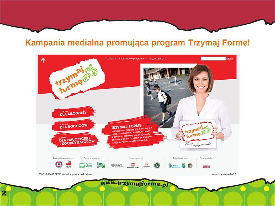 Kampania medialna promująca program Trzymaj Formę!