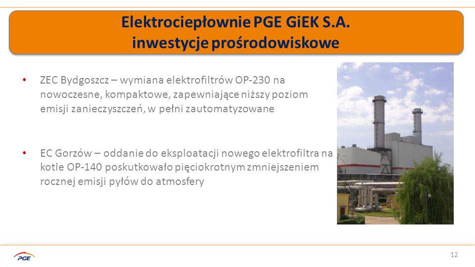 Elektrociepłownie PGE GiEK S.A.