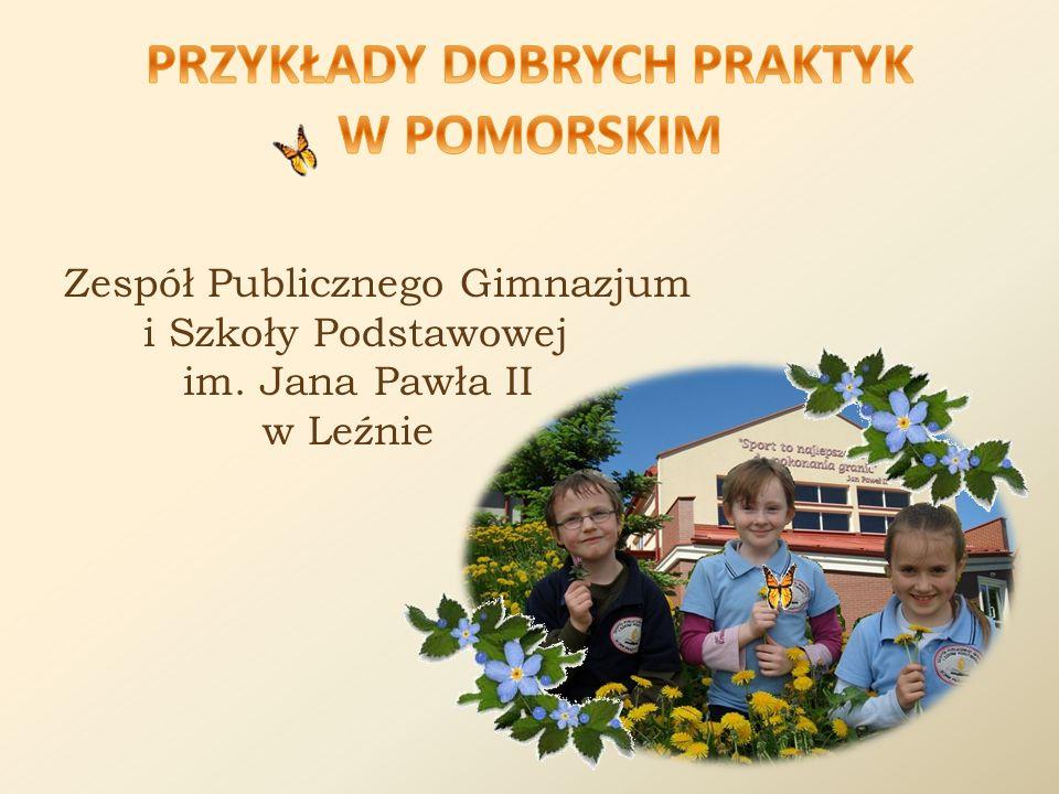 Zespół Publicznego Gimnazjum i Szkoły Podstawowej im. Jana Pawła II w Leźnie