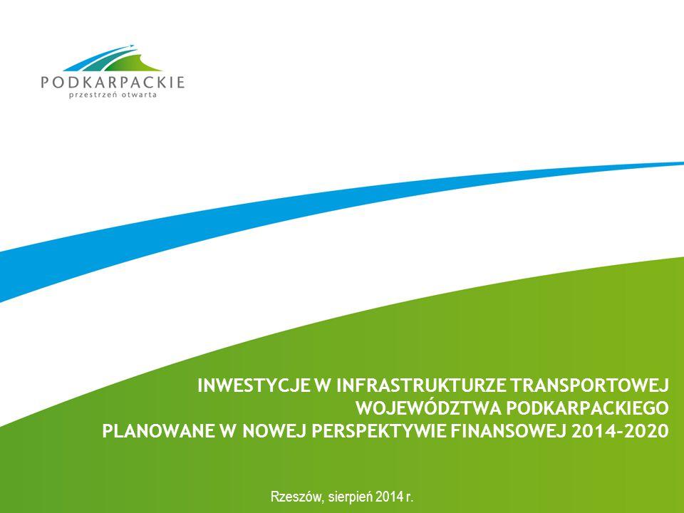 ok.5 mld zł ok. 2,6 mld zł – infrastruktura drogowa ok.