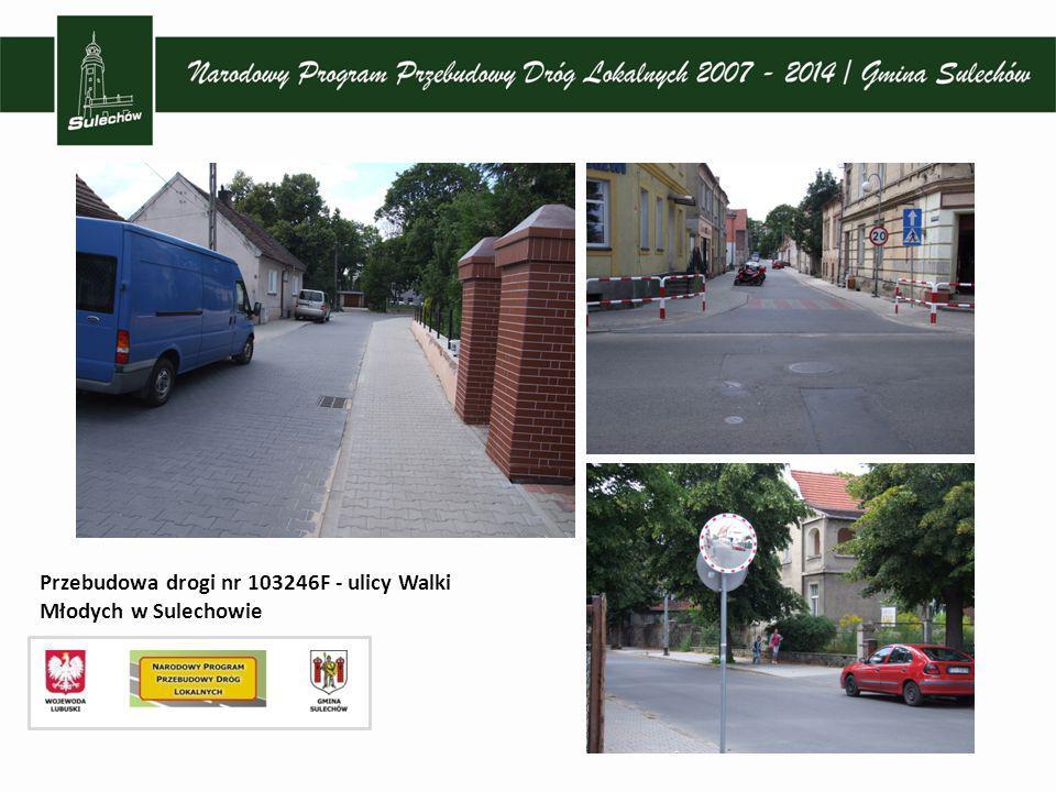 Remont dróg - ul. Doktora Judyma, Licealna i Żeromskiego w Sulechowie