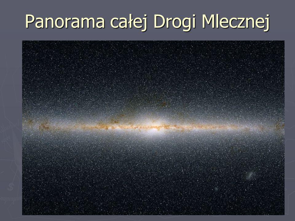 Panorama całej Drogi Mlecznej