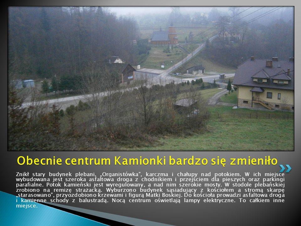 W tle mało zabudowane jeszcze w tym czasie osiedla: Orzełkówka, Końców, Za Górą i Barnasiówka.