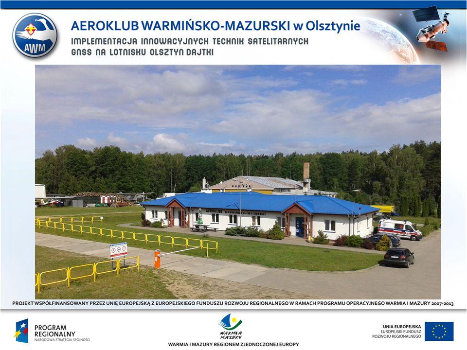 LOTNISKO OLSZTYN – DAJTKI Dwa lata później dzięki środkom unijnym do użytku zostały oddane dwa pasy startowe, oświetlony pas asfaltowy o wymiarach 23x850m oraz najnowocześniejszy w Polsce pas trawiasty o wymiarach 100x850m.