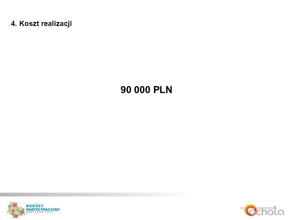 4. Koszt realizacji 90 000 PLN