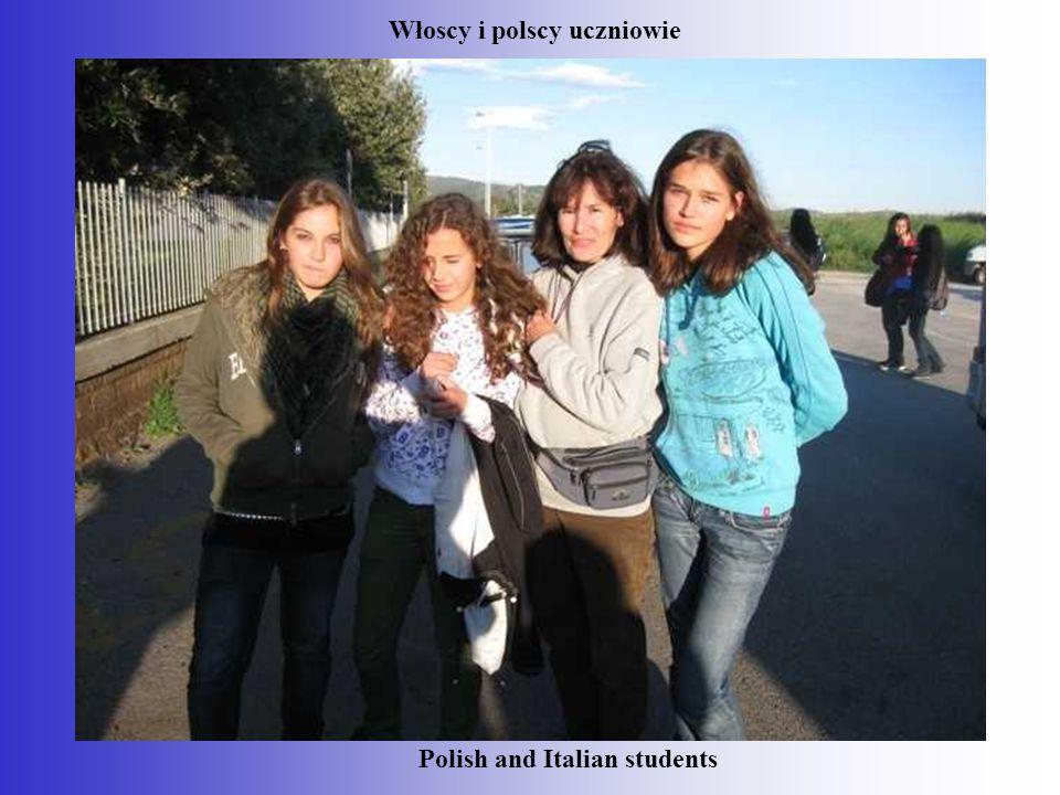 Polish and Italian students Włoscy i polscy uczniowie
