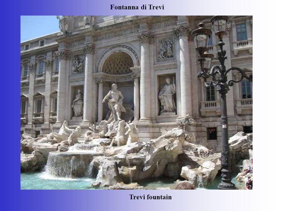 Trevi fountain Fontanna di Trevi