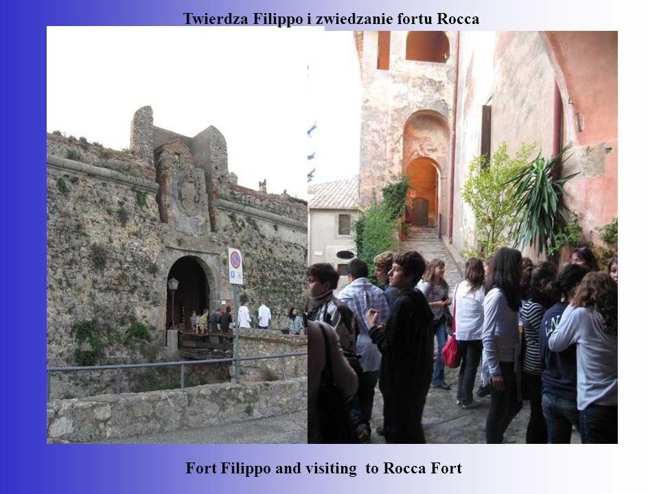 Twierdza Filippo i zwiedzanie fortu Rocca Fort Filippo and visiting to Rocca Fort