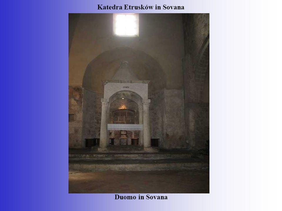 Katedra Etrusków in Sovana Duomo in Sovana