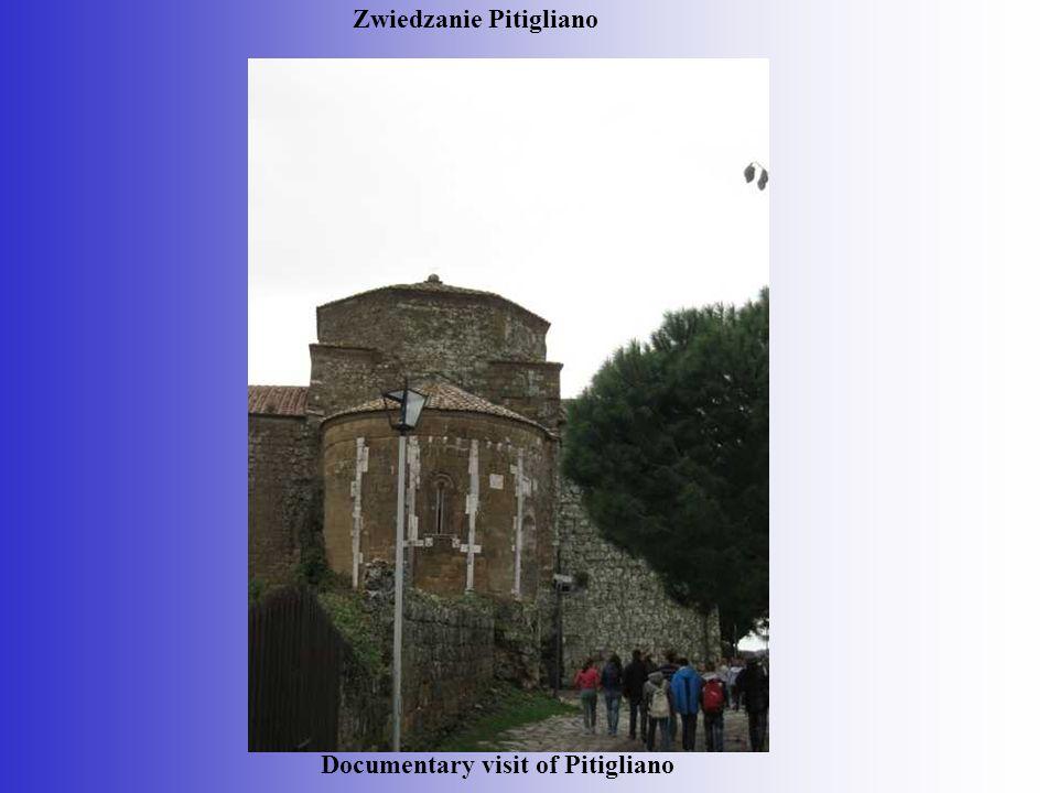 Documentary visit of Pitigliano Zwiedzanie Pitigliano