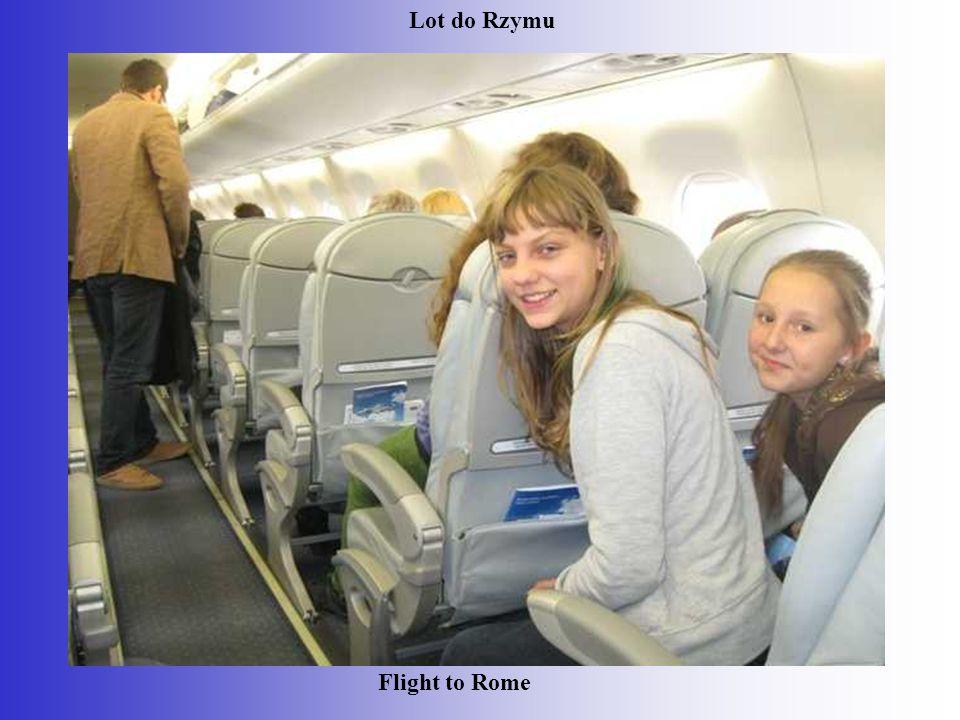 Flight to Rome Lot do Rzymu