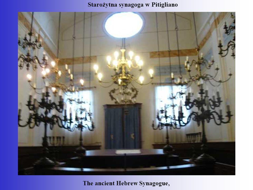 The ancient Hebrew Synagogue, Starożytna synagoga w Pitigliano