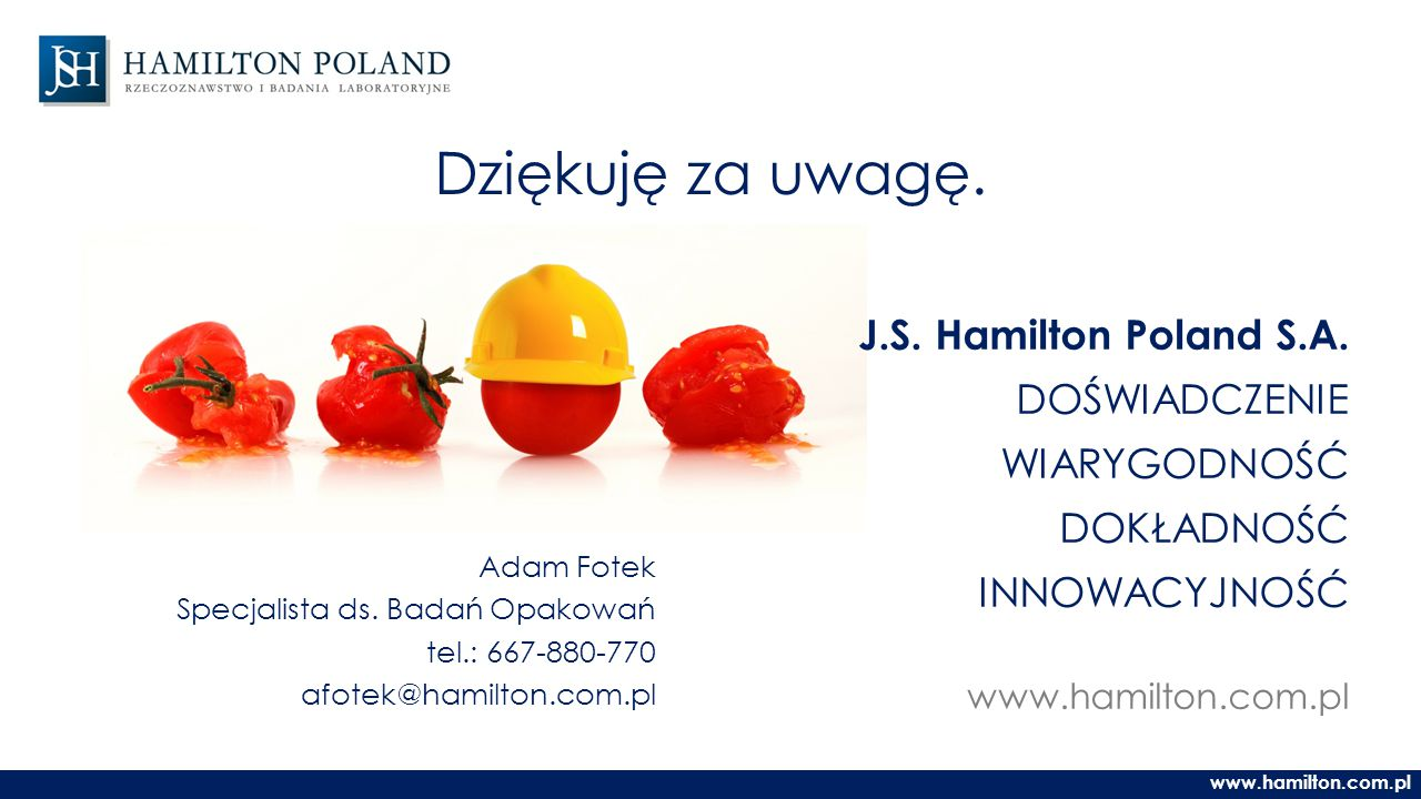 J.S.Hamilton Poland S.A.