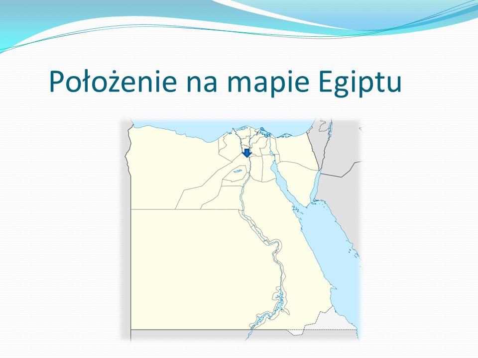 Położenie na mapie Egiptu