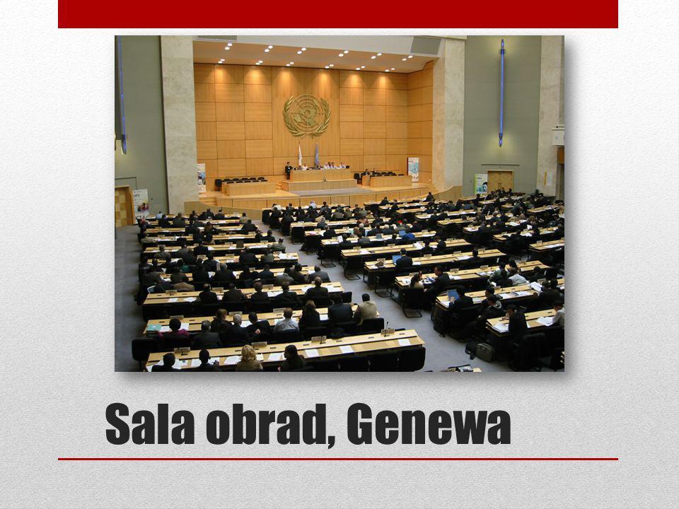 Sala obrad, Genewa