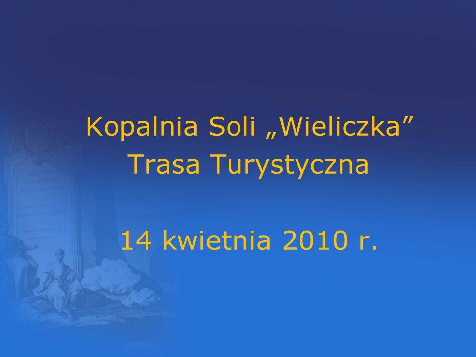 Misja Kopalni Soli Wieliczka Naszym najważniejszym celem jest zachowanie dla przyszłych pokoleń i udostępnianie społeczeństwu pomnika historii i kultury Narodu Polskiego, unikalnego zabytku światowego dziedzictwa przyrody i techniki oraz miejsca kultu.