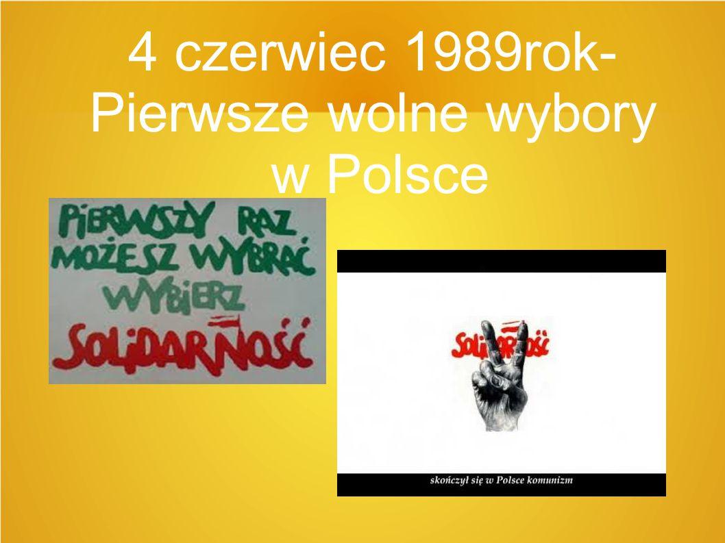 Wybory parlamentarne Wybory parlamentarne w Polsce w 1989 roku (tzw.