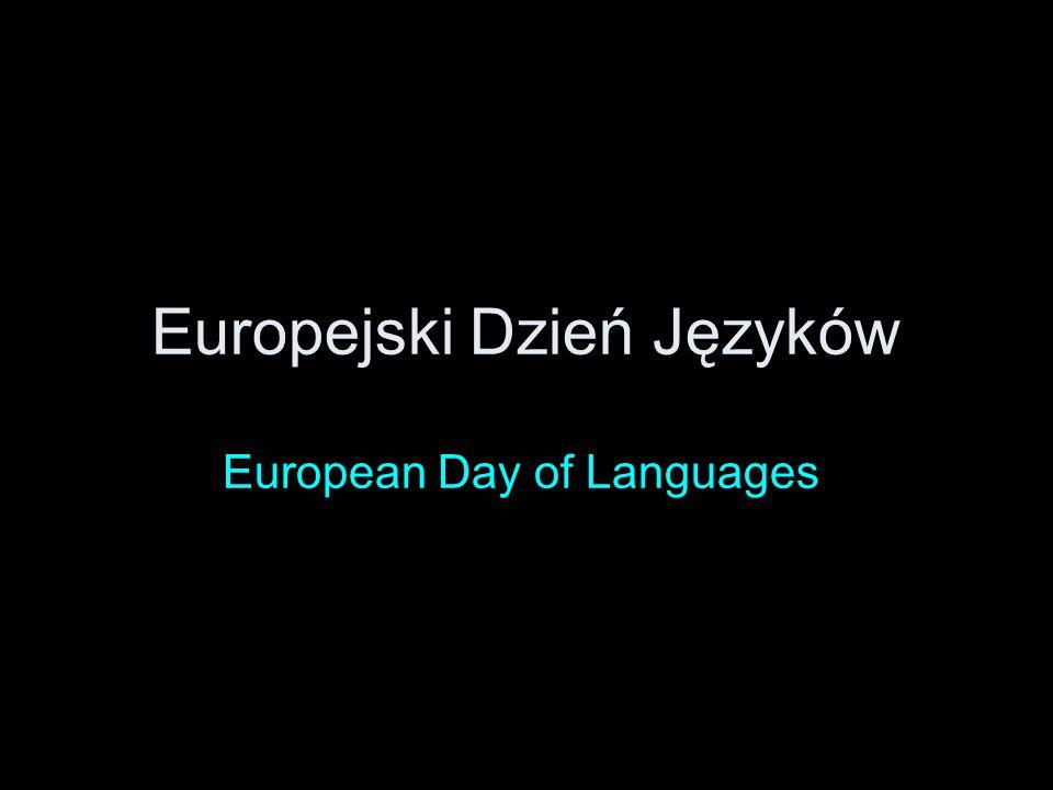 Europejski Dzień Języków European Day of Languages