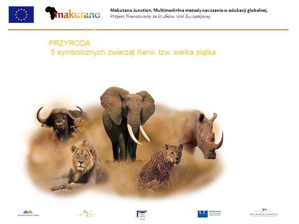 Makutano Junction. Multimedialne metody nauczania w edukacji globalnej. Projekt finansowany ze środków Unii Europejskiej  Tourism is now Kenya's larg