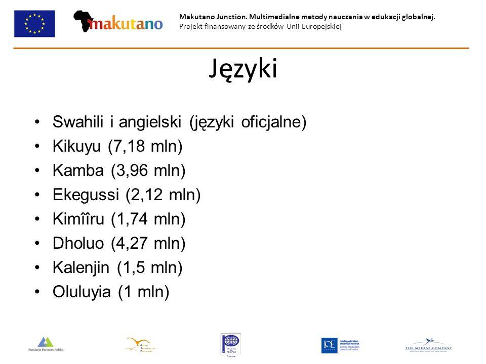 Makutano Junction. Multimedialne metody nauczania w edukacji globalnej. Projekt finansowany ze środków Unii Europejskiej Języki Swahili i angielski (j