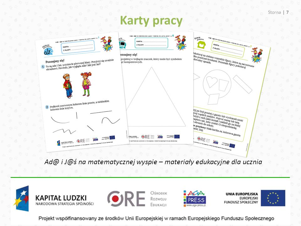 Karty pracy Ad@ i J@ś na matematycznej wyspie – materiały edukacyjne dla ucznia Storna | 7