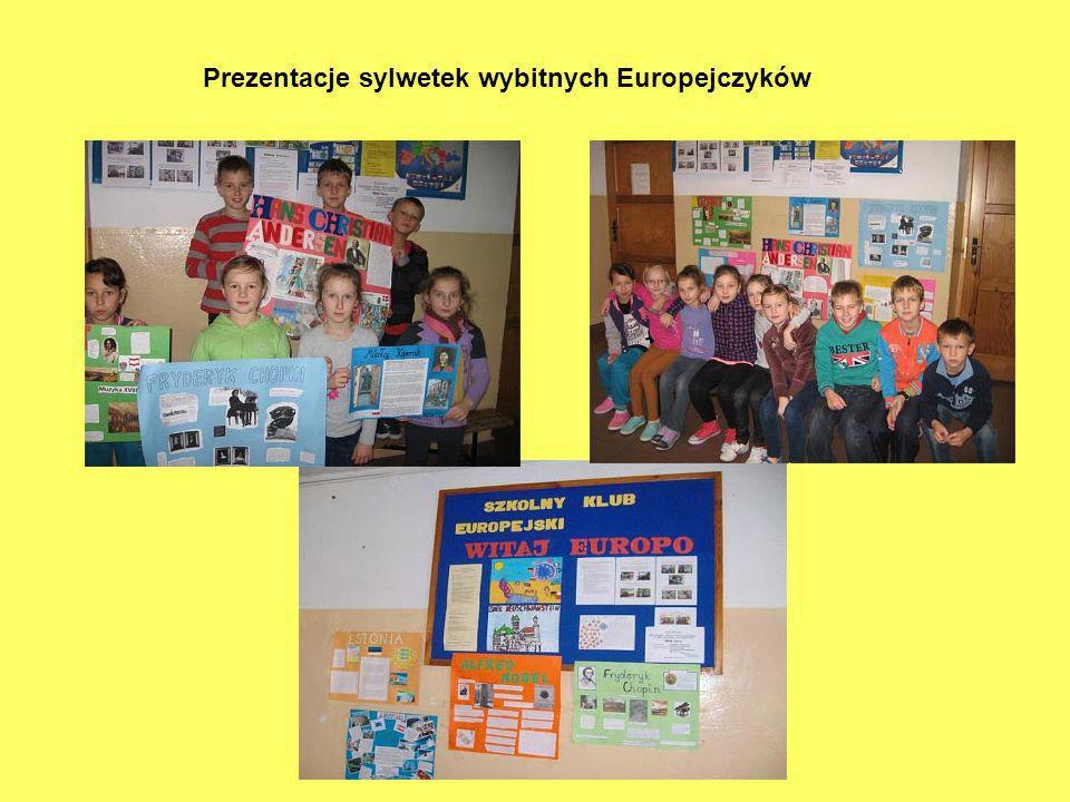 Prezentacje sylwetek wybitnych Europejczyków