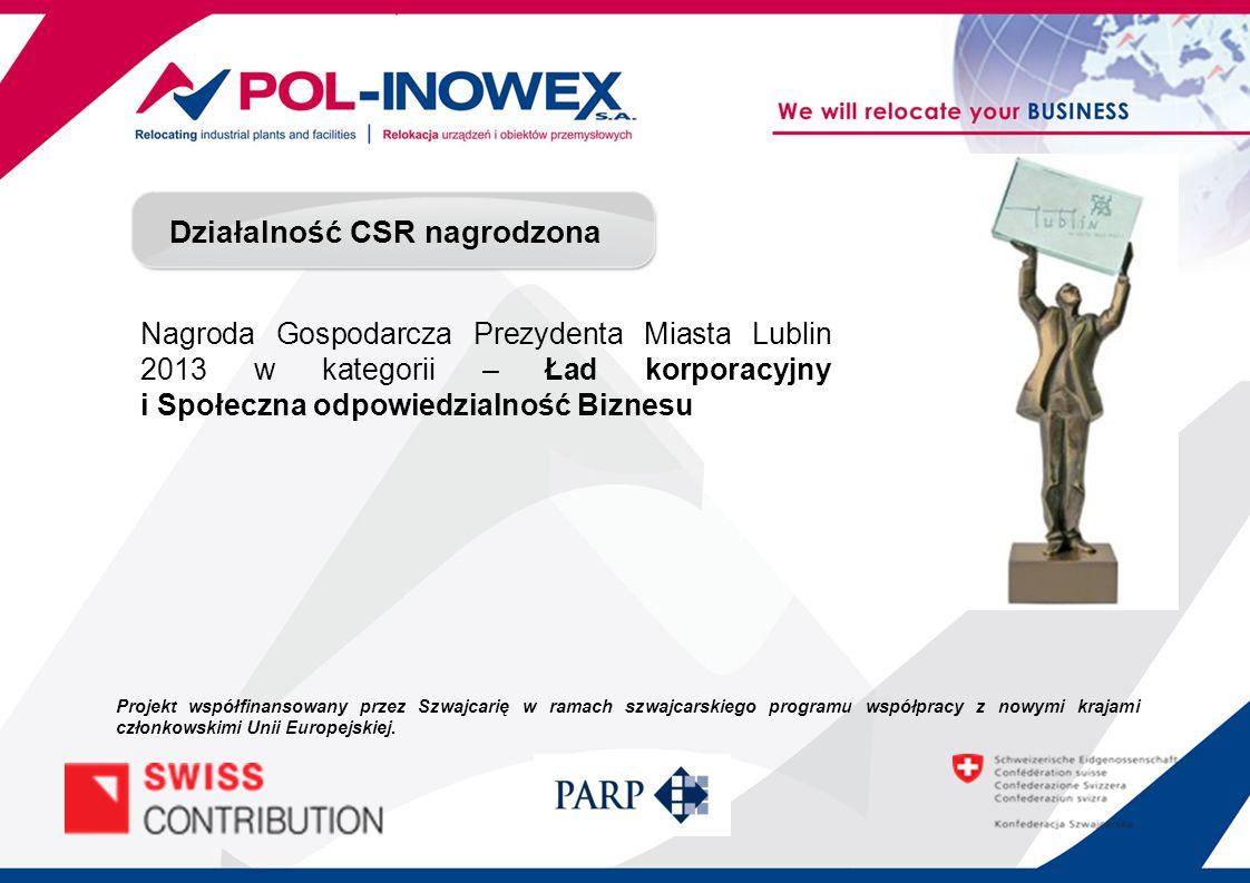 Audyt środowiskowy - podsumowanie Projekt współfinansowany przez Szwajcarię w ramach szwajcarskiego programu współpracy z nowymi krajami członkowskimi Unii Europejskiej.