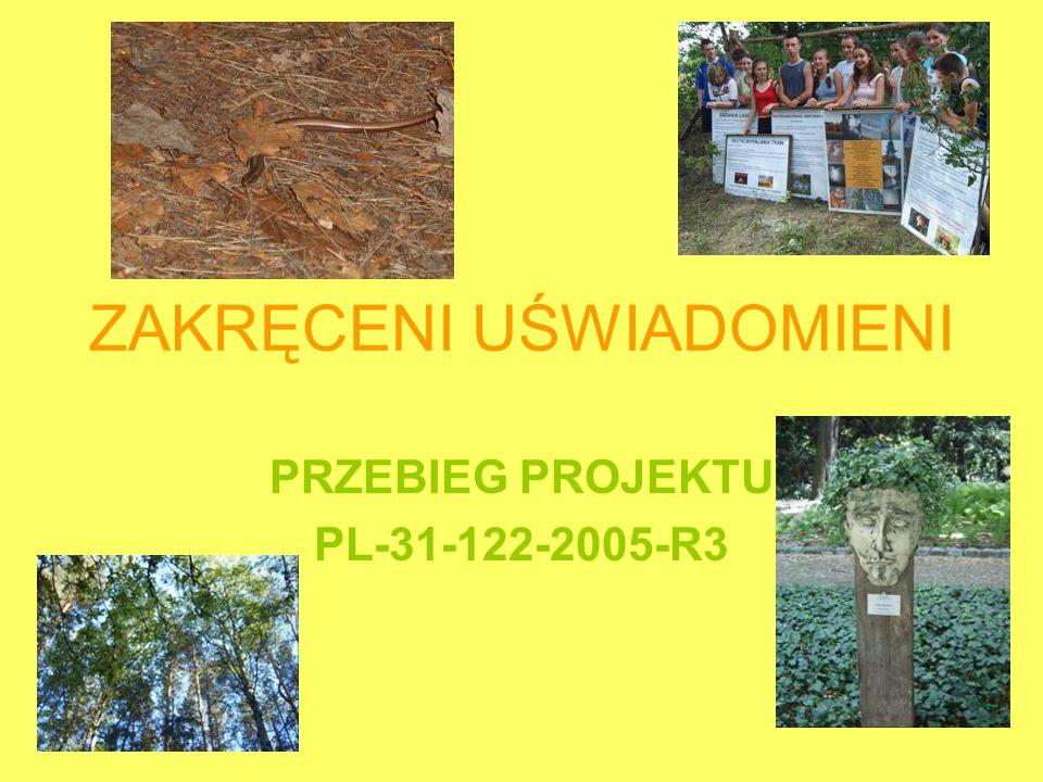 ZAKRĘCENI UŚWIADOMIENI PRZEBIEG PROJEKTU PL-31-122-2005-R3