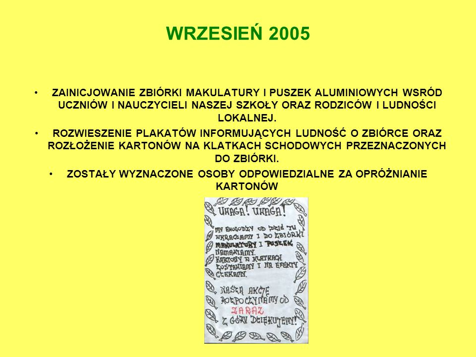 6 GRUDNIA 2005r.